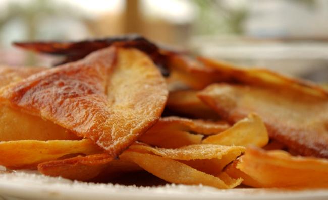 Lard-Fried Corn Tortilla Chips