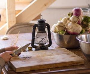 turnip-cutting-board (Favorite Fermentation Equipment: Vegetables)