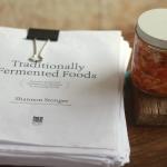 Kimchi and a Manuscript