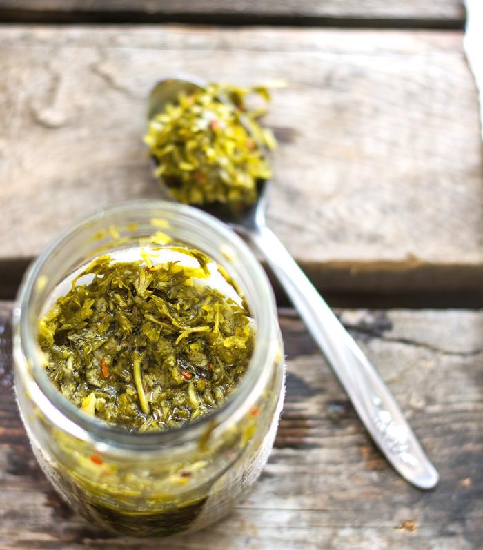 Fermented-Herb-Sauce